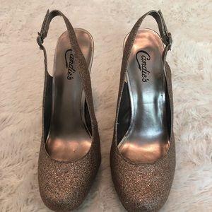 PRICE DROP Candies Glitter 5 in Heels Size 9